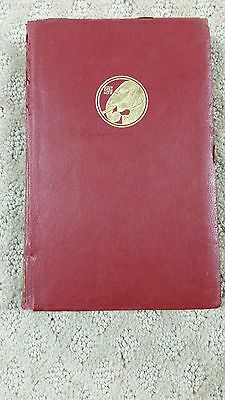 Seven Seas By Rudyard Kipling The Pocket Kipling 1922 Red leather.Doubleday(J36)