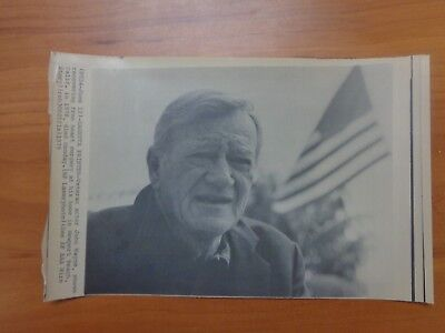 Vintage Wire Press Photo Actor Actress John Wayne Claire Trevor Stagecoach #25