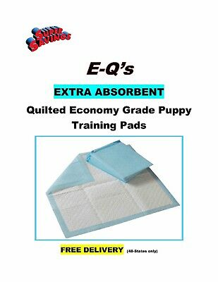 """600-17x24"""" CHEAP Quilted Puppy Training Pee Pads EXTRA ABSORBENT Pad 20gr"""