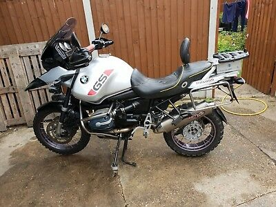 bmw r1150gs adventure with lots of extra's and in good condition