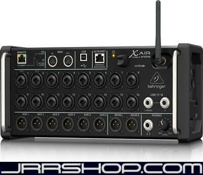 Behringer XR18 18-Channel 12-Bus Digital Mixer for iPad/Android Tablets with 16