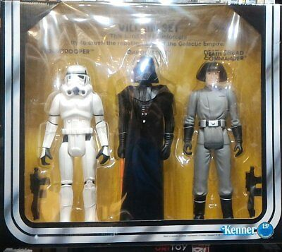 Kenner Star Wars Villian Set Stormtrooper Darth Vader Death Squad Commander