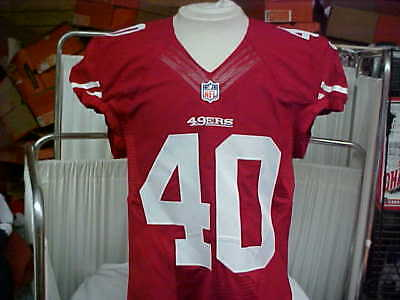 39f544e4f 2015 NFL San Francisco 49ers Game Worn Team Issued Jersey Player  40 Size 42