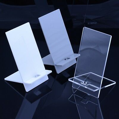 Acrylic Mobile Phone Stand Holder Universal iPhone Samsung HTC Various Colours