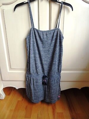 b07ed209f72 ABERCROMBIE KIDS GIRLS sleeveless super soft romper denim color 15 ...