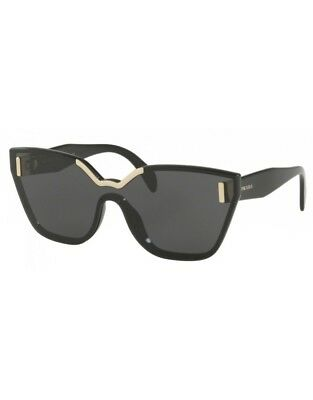 19a0ae8080f3c3 SUNGLASSES PRADA MADE IN ITALY SPR16T 1AB-5S0 48 Black - EUR 250,25 ...