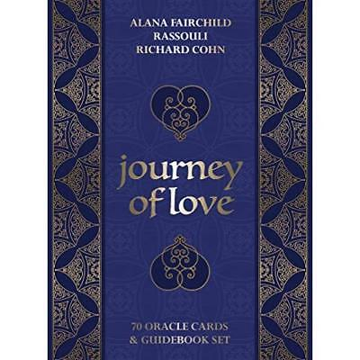Journey Of Love Oracle: 70 cards & 164-page guidebook Alana Fairchild