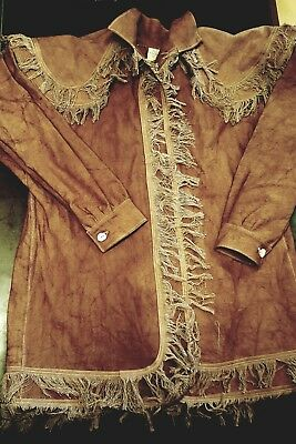 Woodsman Frock Coat/ jacket for fur trade re-enactments Size: XLg