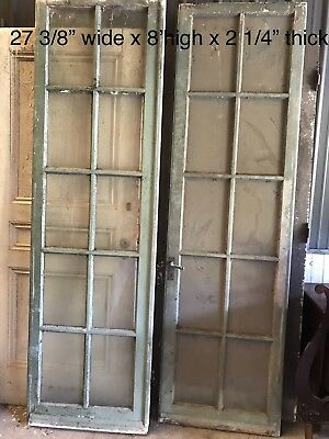 Large Glass Panel Mansion Doors Set Of 2