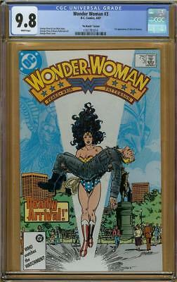 """Wonder Woman #3  """"No Month Variant"""" CGC 9.8 Only (2) Graded Copies #1161791014"""