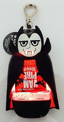 Bath & Body Works Light Up Dracula Vampire Pocketbac Holder & Vampire Blood Gel
