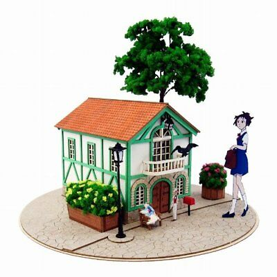 SANKEI Studio Ghibli The Cat Returns Cat's Office Baron 1/150 MK07-11 Paper