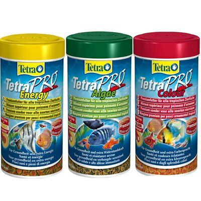 Tetra Pro Crisp Colour Energy Algae Food for All Ornamental Fish Fish Food