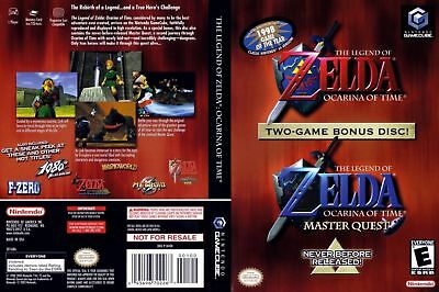 Legend of Zelda Ocarina of Time Master Quest (Nintendo GameCube, 2003)
