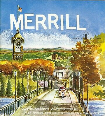 Merrill Wisconsin promotional booklet 1960s