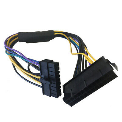 24Pin to Motherboard 18Pin Power Supply ATX Cable 30cm 18AWG for HP z620 Z420