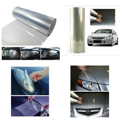 Clear Bra Headlight Bumper With Self Adhesive Hood Paint Protection Film Vinyl