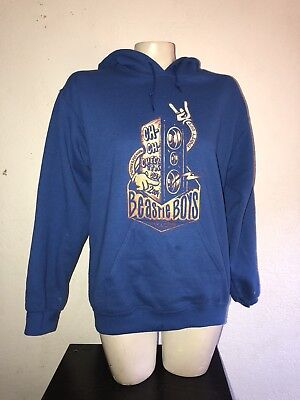 2004 Beastie Boys rare blue hoodie size small Ch Ch Check It Out