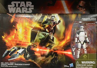Star Wars Episode VII Force Awakens Assault Walker Stormtrooper Sergent Figure