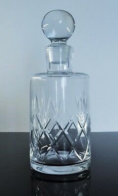 Ancienne Carafe A Whisky Cristal Taille Bayel Cristallerie Royale De Champagne