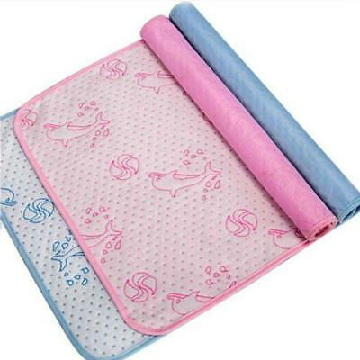Kids Waterproof Breathable Bedding Diapering Changing Mat Washable JJ