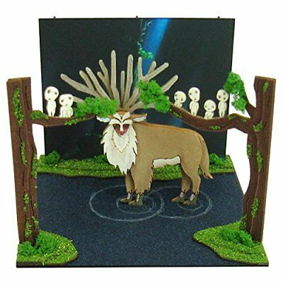 SANKEI Studio Ghibli mini Princess Mononoke Forest Spirit MP07-43 Paper Craft