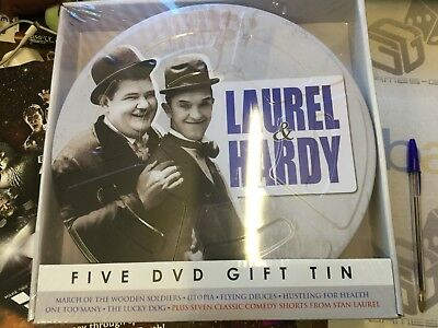 Laurel And Hardy Film Reel Collection [5 DVD GIFT TIN] (DVD)