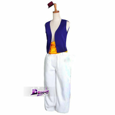 Custom Fashion Dairy Cosplay Animation Aladdin Prince Costume S-XXL