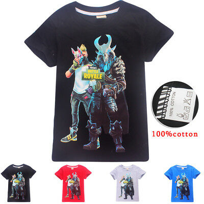 Fortnite Game XBOX PS4 kids T-shirts tops tshirts party costume clothes gifts