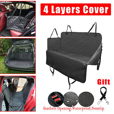 Car SUV Truck & Cargo Boot Liner Mat Waterproof Dog Cat Pet Seat Cover Protector