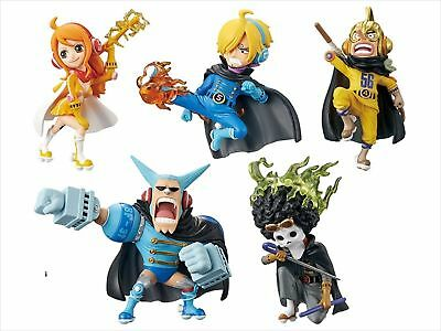 One Piece World Collectable Figure MUGIWARA56 vol.1 Full 5 Set w// Tracking NEW