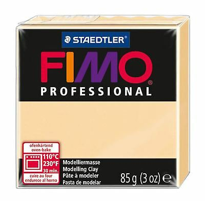 FIMO PROFESSIONAL POLYMER MODELLING OVEN BAKE CLAY 85g  Champagne  (8004-02)
