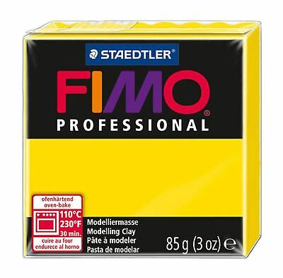 FIMO PROFESSIONAL POLYMER MODELLING OVEN BAKE CLAY 85g Yellow