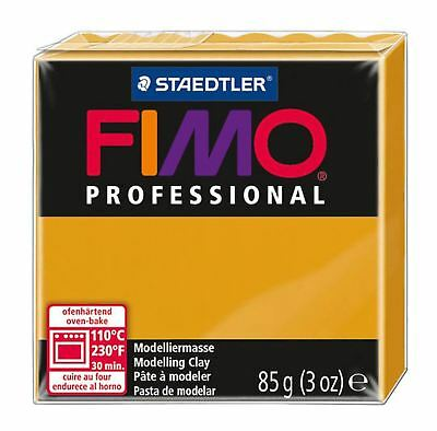 FIMO PROFESSIONAL POLYMER MODELLING OVEN BAKE CLAY 85g Ochre