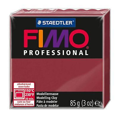 FIMO PROFESSIONAL POLYMER MODELLING OVEN BAKE CLAY 85g Bordeaux