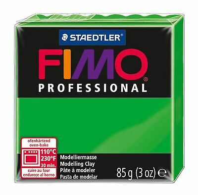 NEW FIMO PROFESSIONAL 85g POLYMER MODELLING - MOULDING OVEN BAKE CLAY  Green