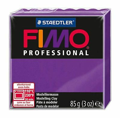 FIMO PROFESSIONAL POLYMER MODELLING OVEN BAKE CLAY 85g  Lilac