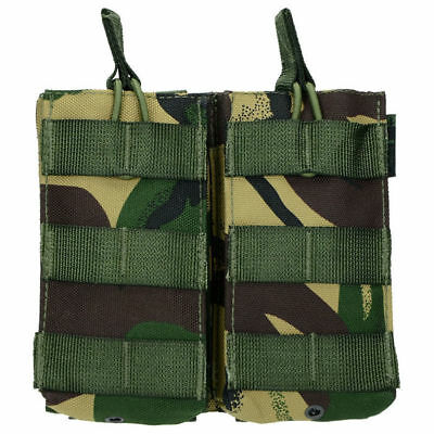 Highlander Molle Doble bolsa de liberación rápida Paintball Military DPM