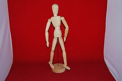 "Artist's Articulated Human Model 13"" Tall."