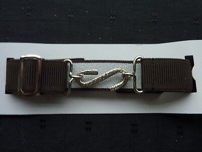 Stretchy Snake Belts/boys/girls/childrens/kids.. Brown..one Size Adjusts To Fit