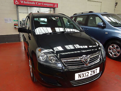 12 Vauxhall Zafira      Wheelchair Adapted Disabled Vehicle