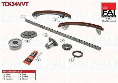 Kit catena distribuzione FAI AutoParts TCK34VVT LOTUS TOYOTA