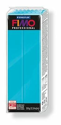 FIMO PROFESSIONAL 350G POLYMER MODELLING OVEN BAKE CLAY- Turquoise