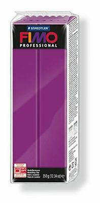 FIMO PROFESSIONAL 350G POLYMER MODELLING OVEN BAKE CLAY- Violet