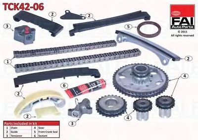 Kit catena distribuzione FAI AutoParts TCK42-06
