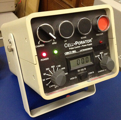 GIBCO BRL Cell-Porator Pulse Control & Power Supply Cat. Series 1600