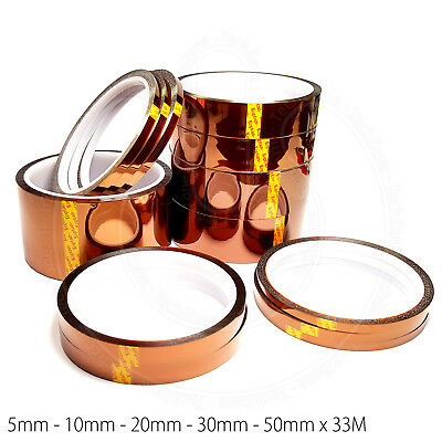 High Temperature Heat Resistant Polyimide Tape Similar to Kapton for BGA Repairs