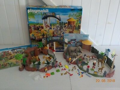 Playmobil Large Zoo Set 4850 Includes All Animals People