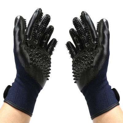 Left & Right Combo True Touch Deshedding Glove Gentle Pet Care Dog Cat Grooming