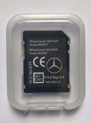 SD card V11 2018-2019 LATEST Europe Map PILOT Mercedes GARMIN A2189063303 A B GL